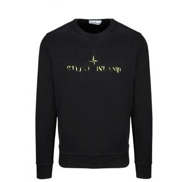 (럭스댓/국내당일) 19fw 스톤아일랜드 로고 맨투맨 티셔츠 $